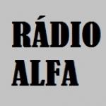 Logo da emissora Rádio Alfa