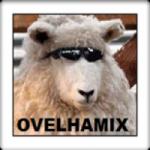Logo da emissora Rádio Velha Mix