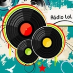 Logo da emissora Rádio LoL Brasil