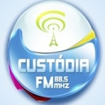 Logo da emissora R�dio Cust�dia 88.5 FM