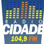 Logo da emissora R�dio Cidade 104.9 FM