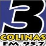 Logo da emissora R�dio 3 Colinas 95.7 FM