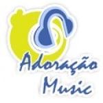Logo da emissora Rádio Adoração Music