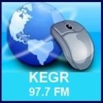 Logo da emissora Radio KEGR 97.7 FM