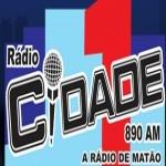 Logo da emissora Rádio Cidade 890 AM