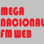 Logo da emissora Mega Nacional FM
