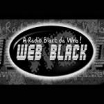 Logo da emissora Rádio Web Black