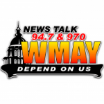 Logo da emissora Radio WMAY News Talk 94.7 970 AM