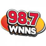 Logo da emissora Radio WNNS 98.7 FM