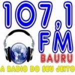 Logo da emissora Rádio 107.1 FM