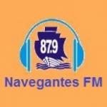 Logo da emissora R�dio Navegantes 87.9 FM