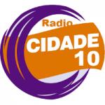 Logo da emissora Rádio Cidade 10