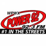 Logo da emissora Radio WPWX Power 92 92.3 FM