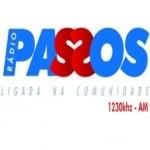 Logo da emissora Rádio Passos 1230 AM