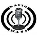 Logo da emissora Rádio Maná