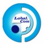 Logo da emissora Rádio Lobal FM