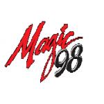 Logo da emissora WMGN 98 FM Magic