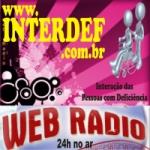 Logo da emissora Rádio Interdef