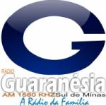 Logo da emissora Rádio Nova Guaranésia 1580 AM