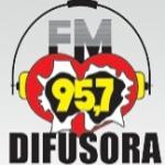 Logo da emissora R�dio Difusora 95.7 FM