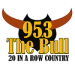 Logo da emissora Radio WRTB The Bull 95.3 FM