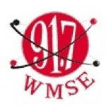 Logo da emissora WMSE 91.7 FM