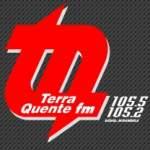 Logo da emissora Rádio Terra Quente 105.2 FM