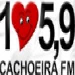 Logo da emissora Rádio Cachoeira 105.9 FM
