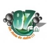 Logo da emissora R�dio Rainha 87.9 FM