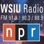 Logo da emissora Radio WSIU 91.9 FM