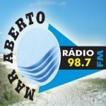Logo da emissora Rádio Mar Aberto 98.7 FM