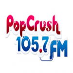 Logo da emissora Radio 105.7 Crush FM
