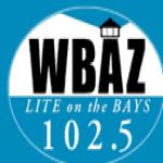 Logo da emissora WBAZ 102.5 FM