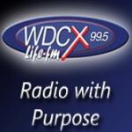 Logo da emissora WCDX 990 AM