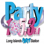 Logo da emissora Party Radio 105.3 FM