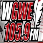 Logo da emissora WGWE 105.9 FM