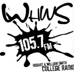 Logo da emissora WHWS 105.7 FM
