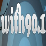 Logo da emissora WITH 90.1 FM