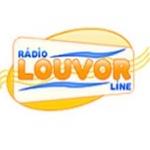 Logo da emissora Rádio Louvor Line