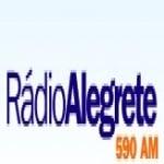 Logo da emissora R�dio Alegrete 590 AM