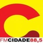 Logo da emissora R�dio Cidade 88.5 FM