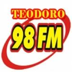 Logo da emissora Rádio Teodoro 98.7 FM