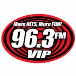 Logo da emissora Radio VIP 96.3 FM