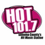Logo da emissora KHTH 101.7 FM Hot