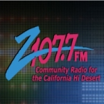 Logo da emissora Radio KCDZ 107.7 FM