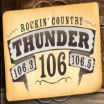 Logo da emissora WKMK 106.3 - 106.5 FM