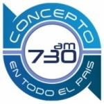 Logo da emissora Radio Concepto 730 AM