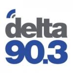 Logo da emissora Radio Delta 90.3 FM
