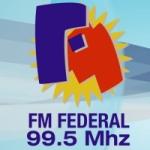 Logo da emissora Radio Federal 99.5 FM