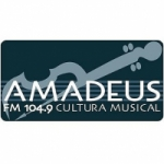 Logo da emissora Radio Amadeus 104.9 FM